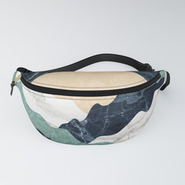 Marble mountain landscape Fanny Pack