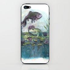 the magic pond iPhone & iPod Skin