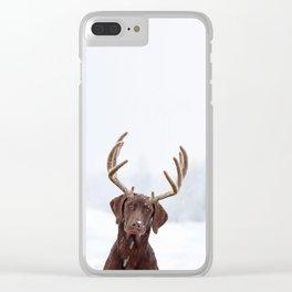 White wonder Clear iPhone Case