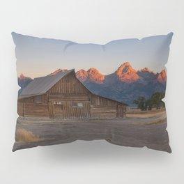 Moulton Barn - Sunrise in Grand Tetons Pillow Sham