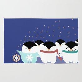 Little Penguins Rug