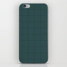 Cadet Blue Blingham iPhone Skin