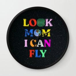 Look Mom I Can Fly Wall Clock