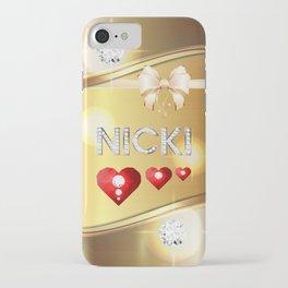 Nicki 01 iPhone Case