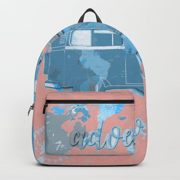 world map-adventure awaits 6 Backpack