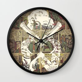 Cover Girl Wall Clock