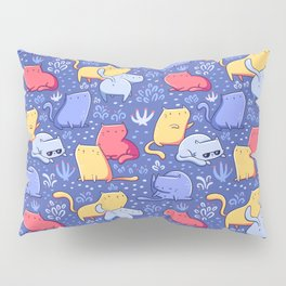 A Lot of Cats / Out at night Pillow Sham