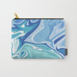 MARBLE - SEA - CLOUDS - SMOKE - WAVES Carry-All Pouch