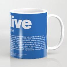 definition LLL - Live 6 Mug