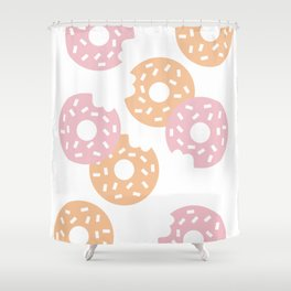 Sprinkled Donuts Shower Curtain