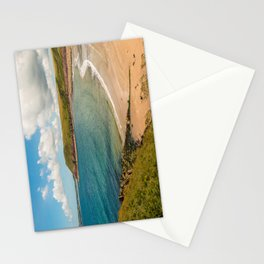 Wales - Manorbier Beach Stationery Cards
