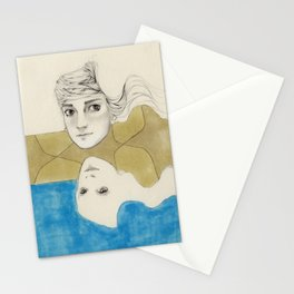 Earth Water and Wind! Stationery Cards
