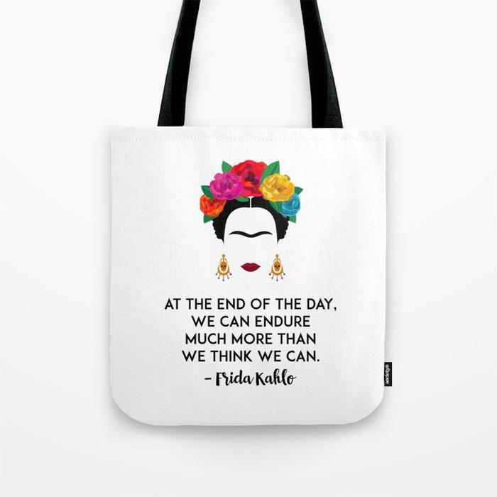 Frida's Strength Tote Bag