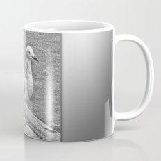 Silver Gull standing guard Mug