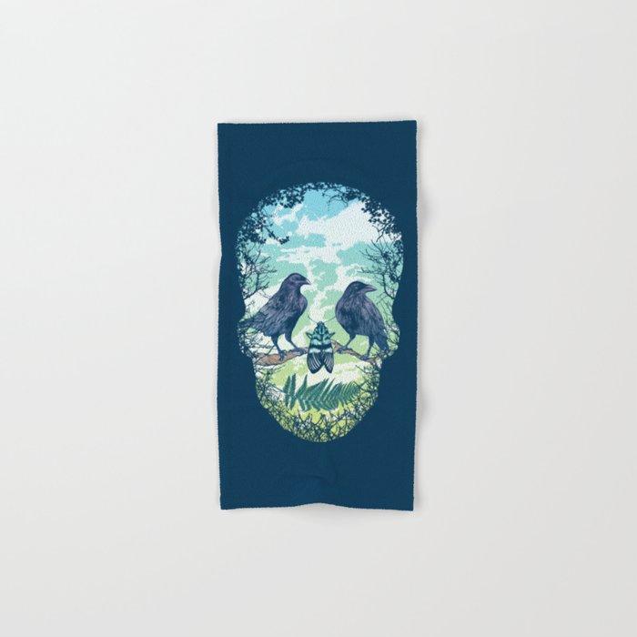 Nature's Skull Hand & Bath Towel