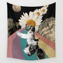 Biking Wall Tapestry