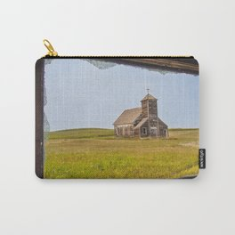 St.John's as Seen from the Yellow House, Arena, ND 2 Carry-All Pouch