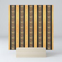 Viking gold Mini Art Print