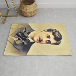 Marcel Proust, Literary Legend Rug