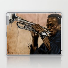Miles, jazz will never be the same Laptop & iPad Skin