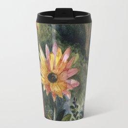 Vibrant Blossom Travel Mug