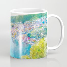 Côte d'Azur, Villefranche-sur-Mer, France, by Jennifer Berdy Coffee Mug