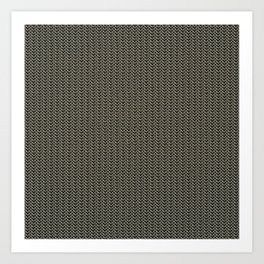 Faux Chainmail over Canvas Art Print