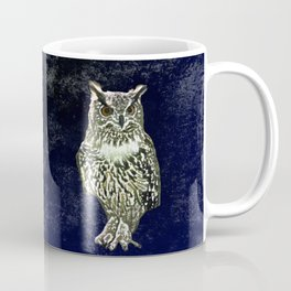 Owl has  good eye-sight, insight, and foresight, in his own words. Coffee Mug