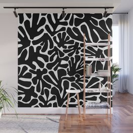 The Cut Outs // B&W Wall Mural