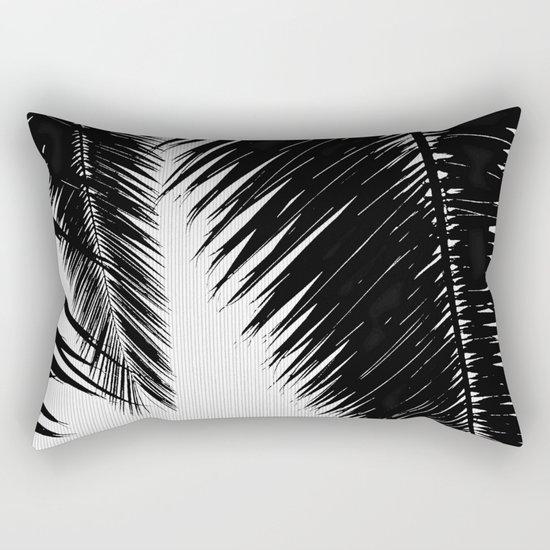 BW Palms Rectangular Pillow
