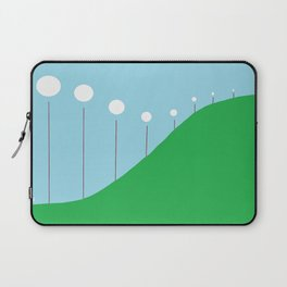 Abstract Landscape - Lights on the Hill Laptop Sleeve