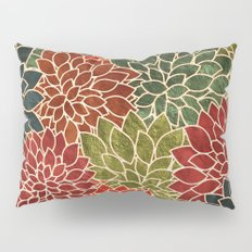 Floral Abstract 7 Pillow Sham