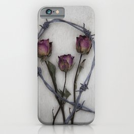 Three dried Roses II iPhone Case