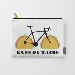 Runs On Tacos Carry-All Pouch
