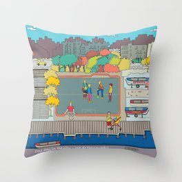 One day in the city - We do the squads? Throw Pillow