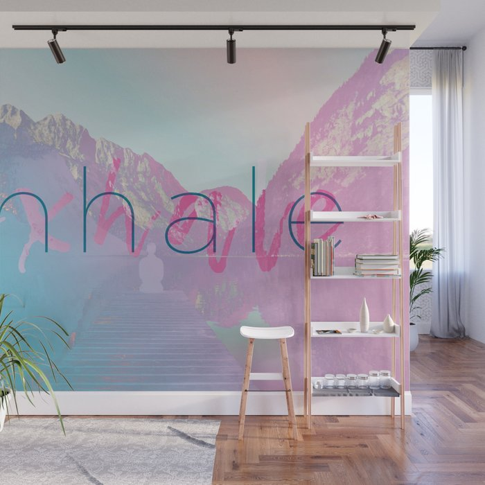 Inhale / Exhale Wall Mural