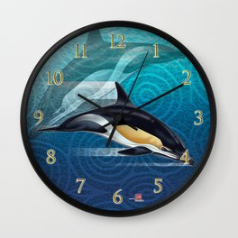 DW-031 Dolphin Dance Wall Clock