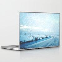 iceland Laptop & iPad Skins featuring Iceland by Inga Ink Art
