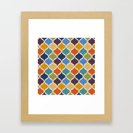 Moroccan Fall 1 Framed Art Print