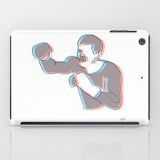 Boxing Ali (coulour) iPad Case