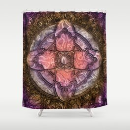 The Oracle's Light Shower Curtain