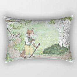 Morning Hellos Rectangular Pillow