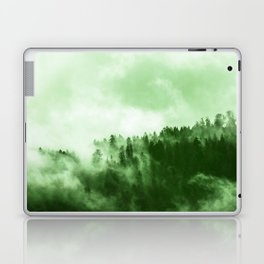 Clear away the fog to see the light. Green Laptop & iPad Skin