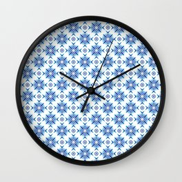 Shibori Watercolour no.5 Wall Clock