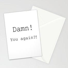 Damn! Stationery Cards