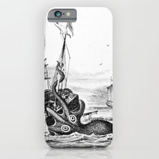 1810 vintage nautical octopus steampunk kraken sea monster drawing print Denys de Montfort retro Slim Case iPhone 6