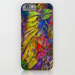Mosaic of Bird V2SR iPhone Case