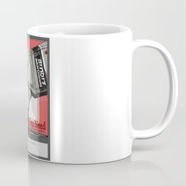 vintage advert that promotes some questionable choices Coffee Mug
