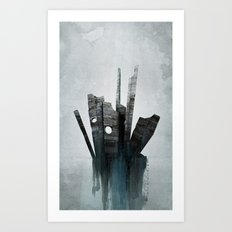 Pathfinder - Experimental Art Print