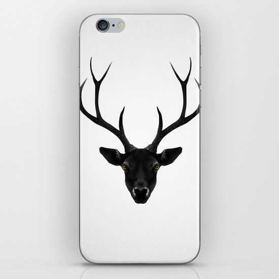 The Black Deer iPhone & iPod Skin